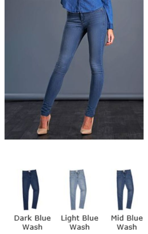 So Denim SD014 Ladies Lara Skinni Jeans