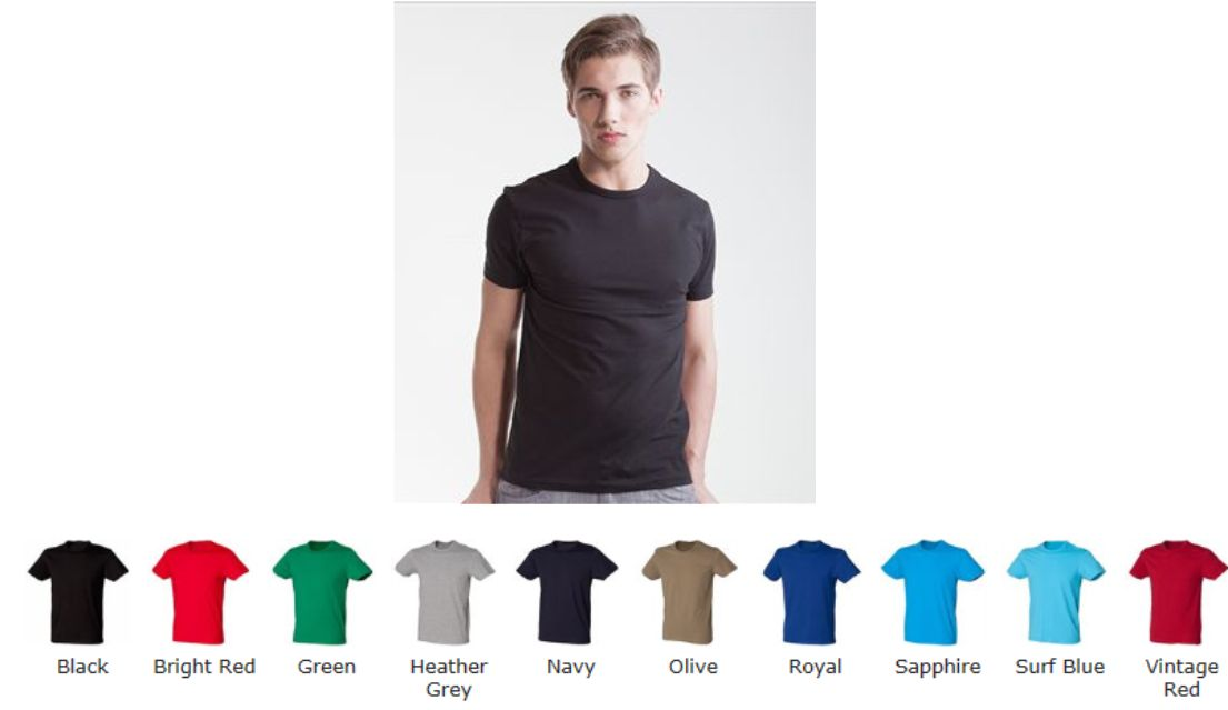 SF SF101 Mens Stretch Tee