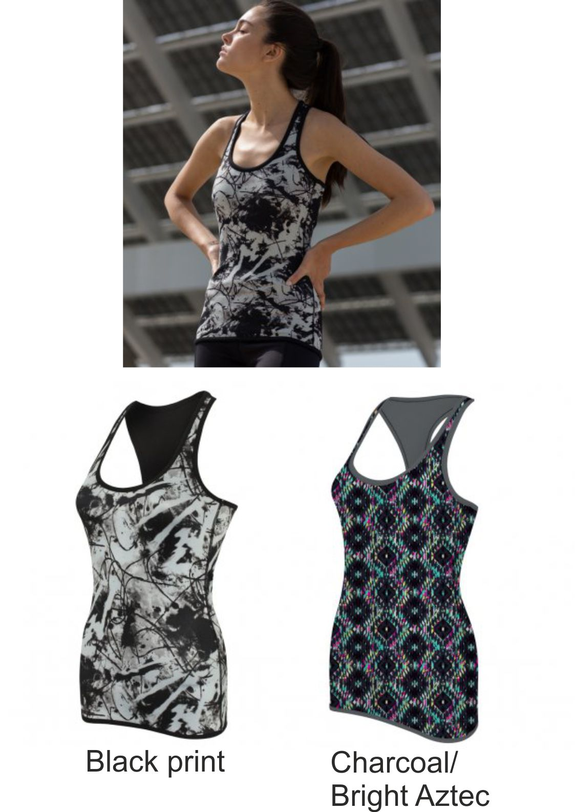 SF SK240F Ladies Reversible workout Vest