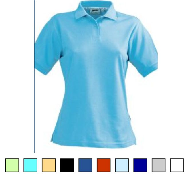 SL71 Slazenger Ladies Cotton Polo