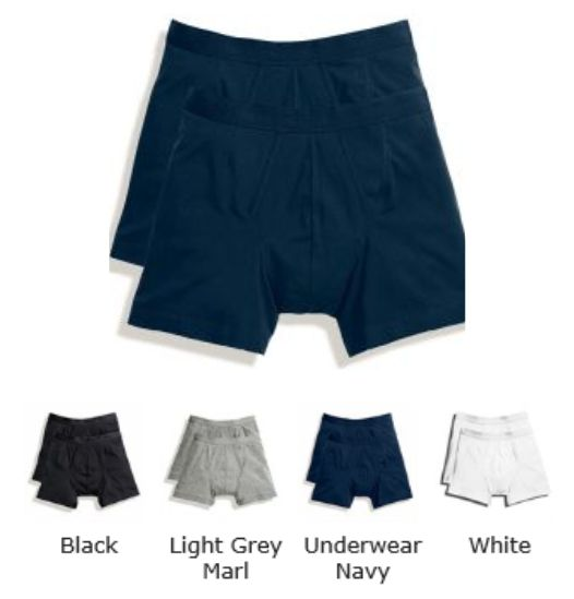 Fruit of the Loom SS122M Classic Sports Boxer 2 Pack