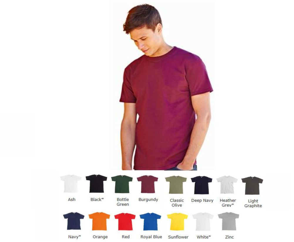 Fruit of the Loom SS21M Premium tee shirt