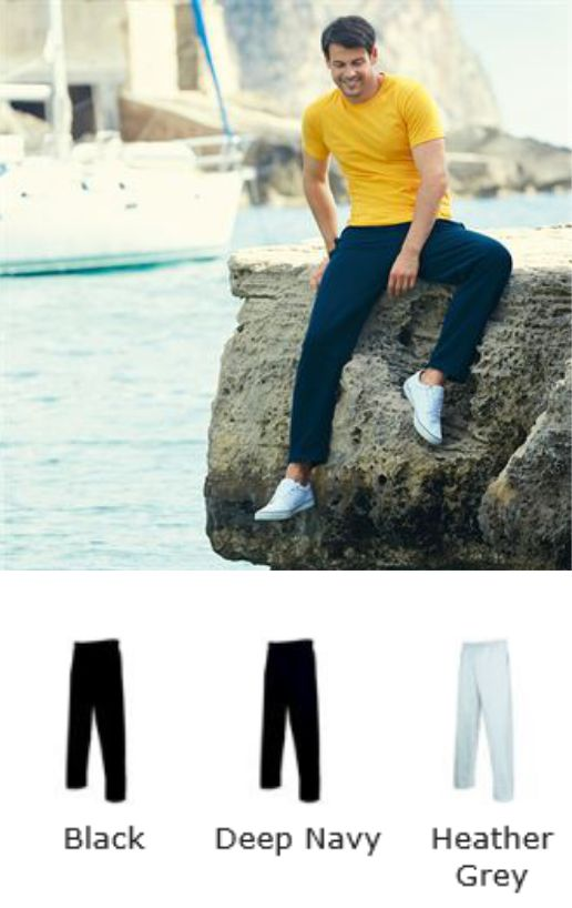 Fruit of the Loom SS60M lightweight Jog pants
