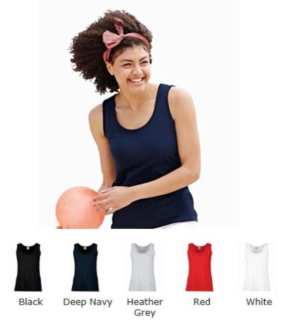 Fruit of the Loom SS77M Lady Fit Valueweight Vest