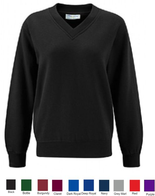 Blue Max Select Vee Neck Sweatshirt