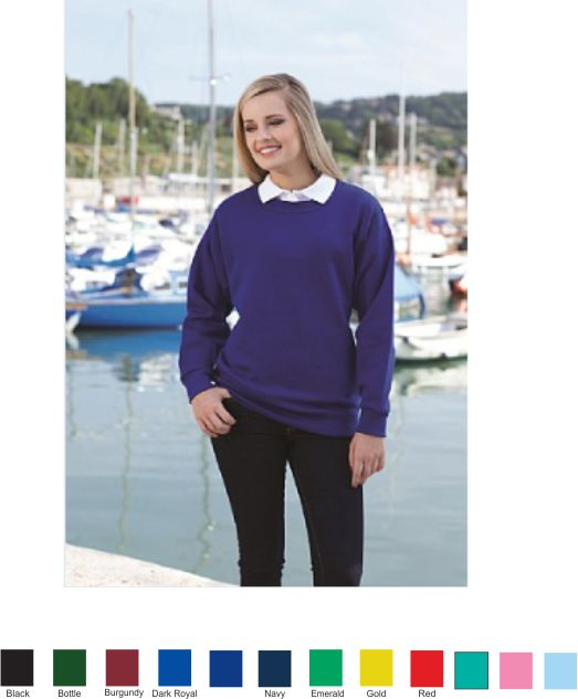 Blue Max Select Drop shoulder sweatshirt