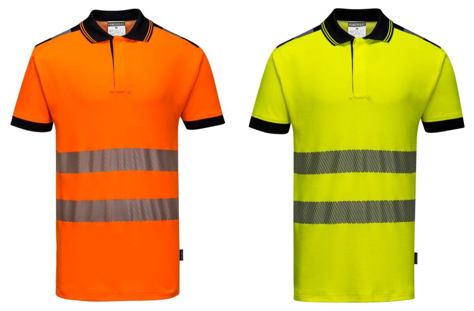 Portwest T180 Hi-Vis Vision Polo Shirt