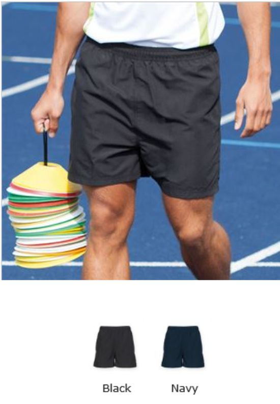 Tombo TL800 Startline Tag Free Adult Track Shorts