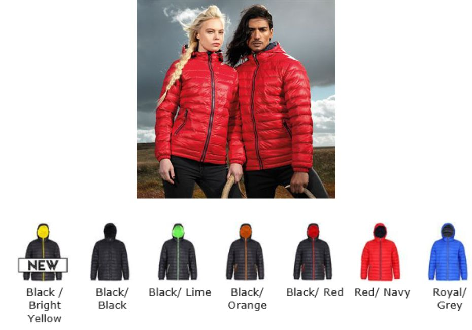 2786 TS16F Ladies Padded Jacket