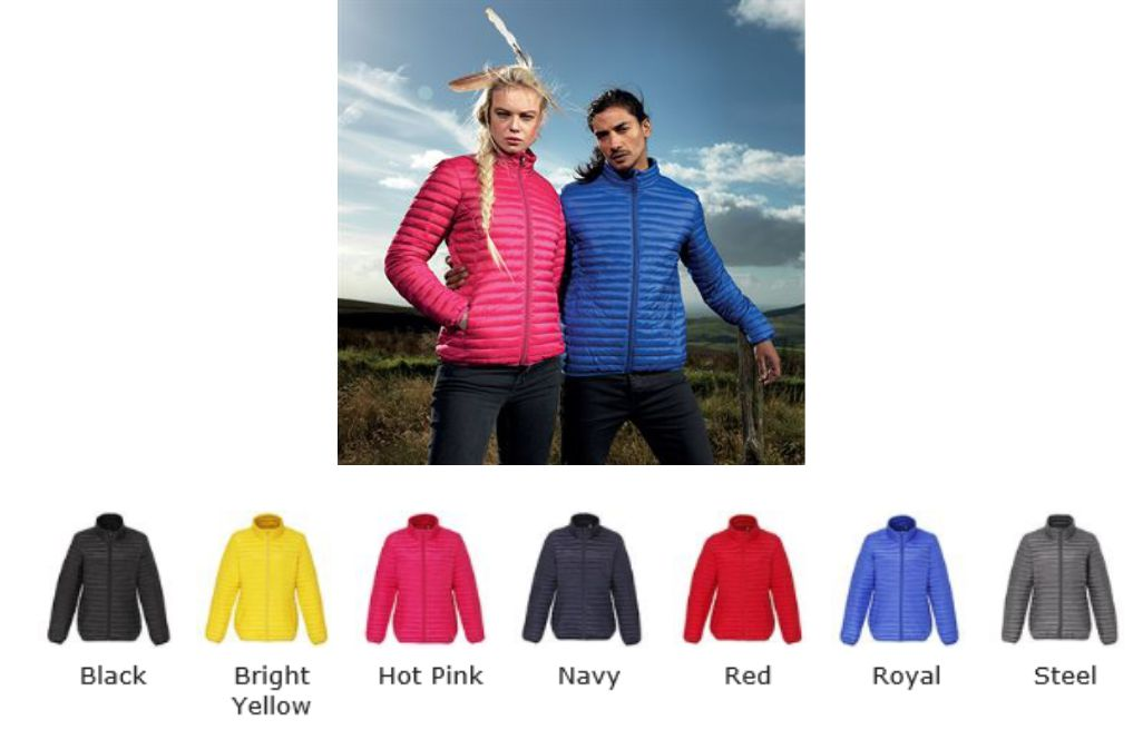 2786 TS018F Ladies Padded Jacket