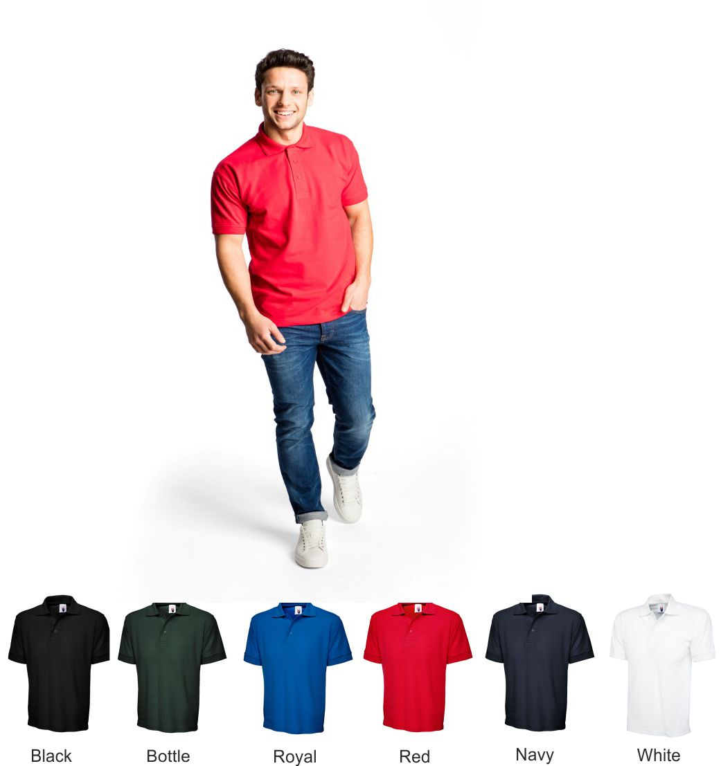 Uneek UC104 Ultimate 100% cotton polo