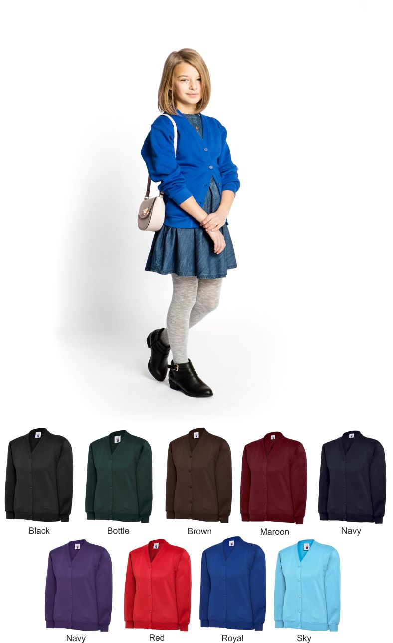 Uneek UC207 Childs Cardigan