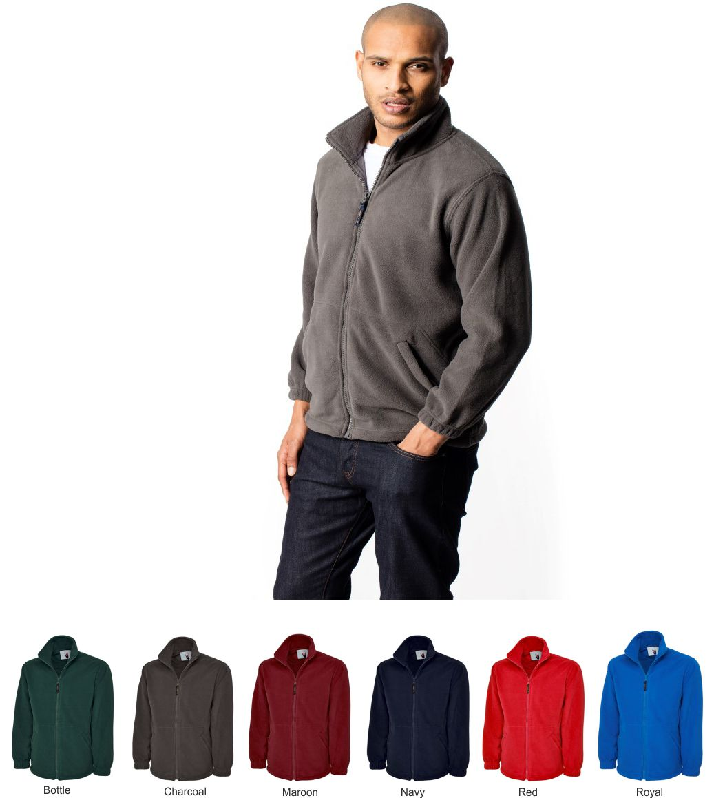 Uneek UC601 full zip fleece