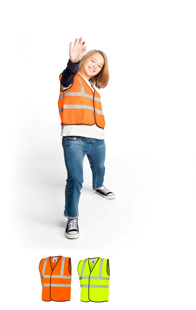 Uneek UC806 Childrens High Visibility Waistcoat