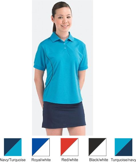 Medallion Victory Junior Girls Panelled Games Shirt