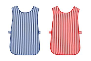 W160 Striped Tabard without Pocket