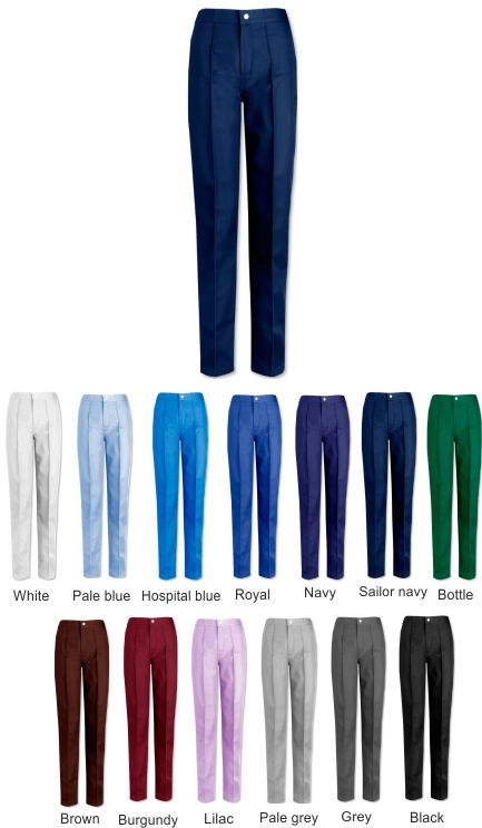 W640 Women's Pleat Trousers