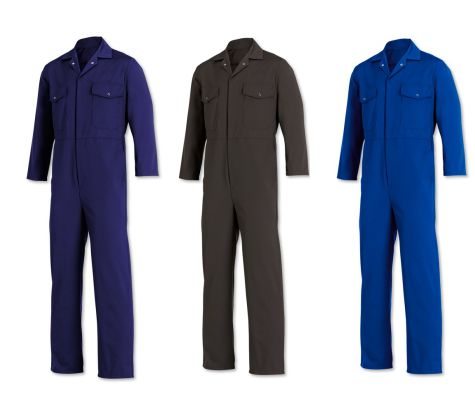 W601 Relaxed Fit Coverall