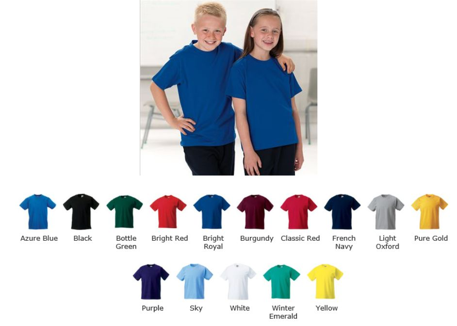 Jerzees ZT180b childs tee shirt