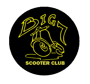 Big 7 Round Sticker