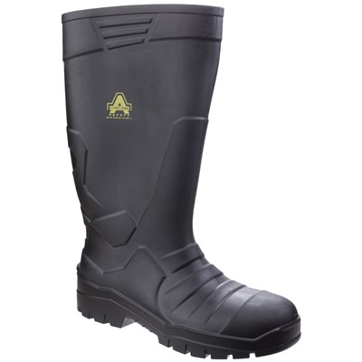 Amblers AS1006 Safety Welington Black PU
