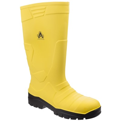 Amblers AS1007 Safety Wellington PU Yellow