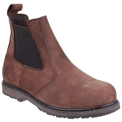 Amblers AS148 Sperrin Brown Leather Waterproof Dealer Boot
