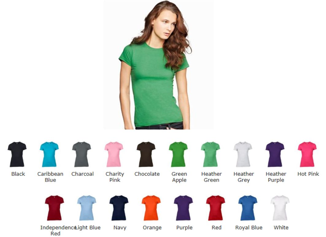 Anvil AV105F Woman's fitted Fashion Tee