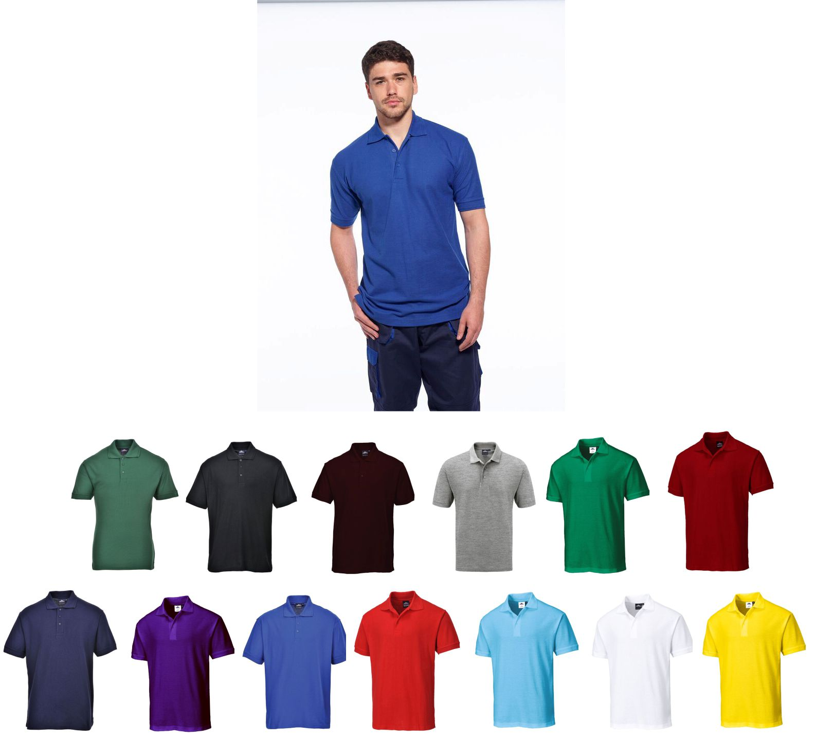 B210 Portwest Naples poly/cotton Polo Shirt