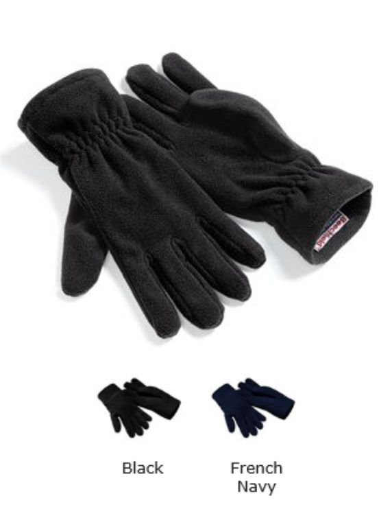 Beechfield B296 Suprafleece Alpine Gloves