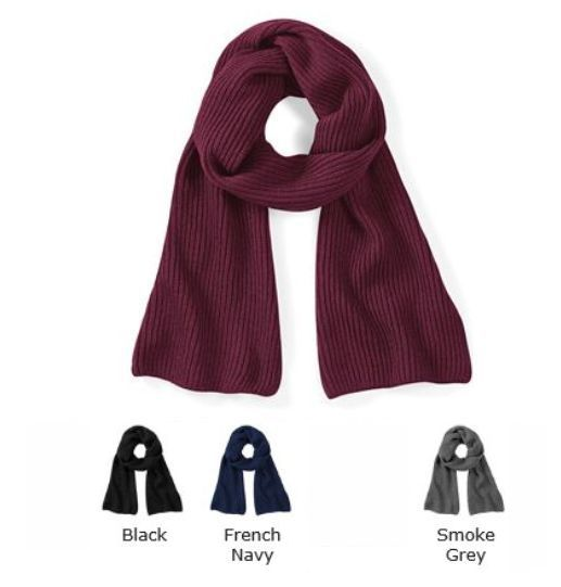 Beechfield B469 Metro Knitted Scarf