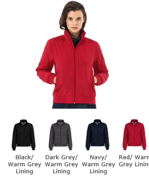 B&C BA655F Ladies Blouson Middleweight Jacket
