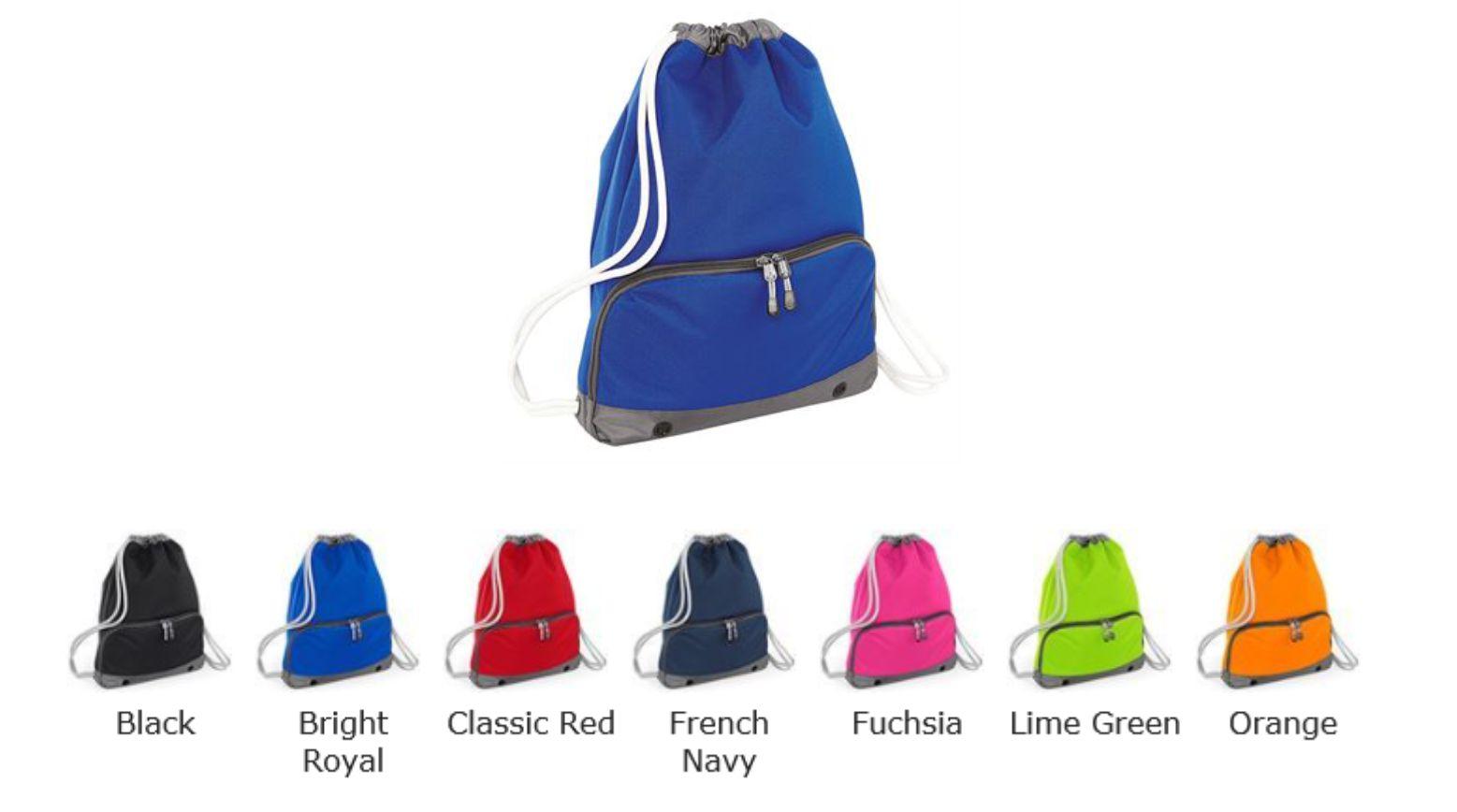 BG542 Bagbase Athleisure Gymsac Water Resistant Drawstring Trainers Gym Bag