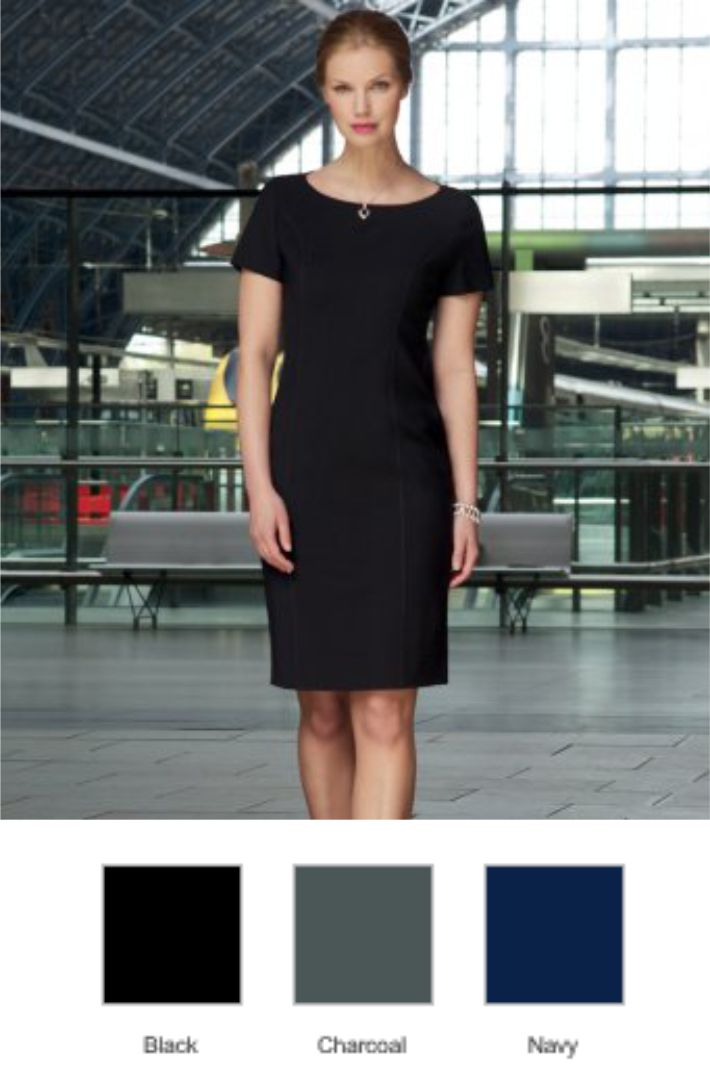 Brook Taverner BK252 Ladies Sophisticated Terano Dress