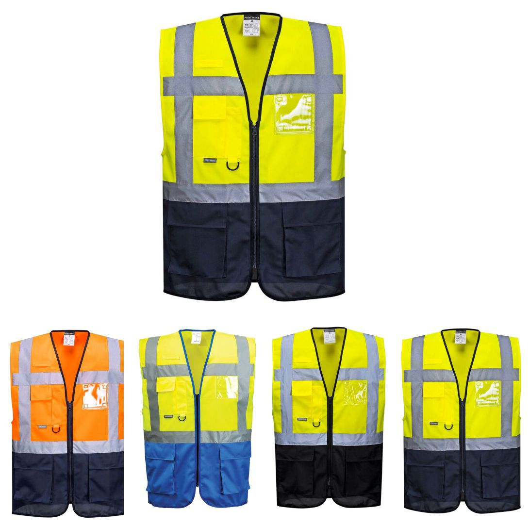 C476 Warsaw Hi Vis Executive Vest