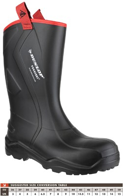 Dunlop 762043CH Purofort Rugged Full Safety