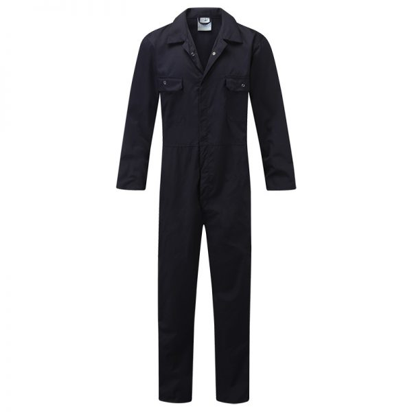 Stud Front Coveralls