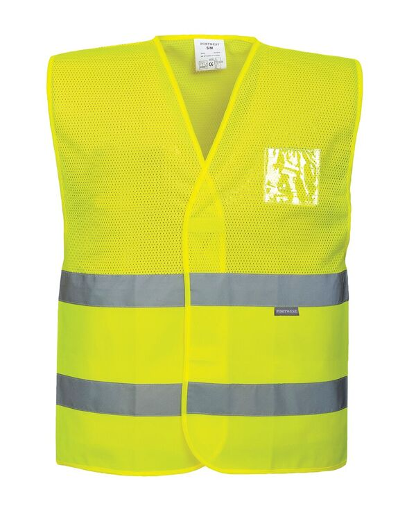 Mesh and thermal vests
