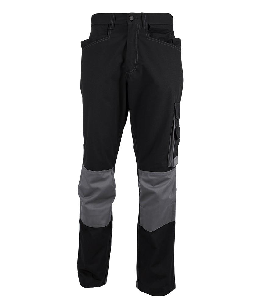 Knee pad work trousers