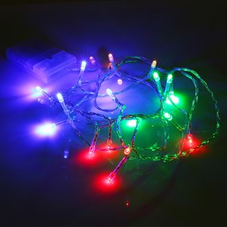 Xmas lights & light up features