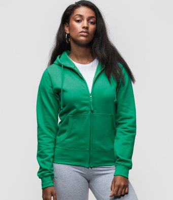 Ladies Zip front Hoodies