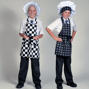 DF86 7-10 years Childrens Aprons
