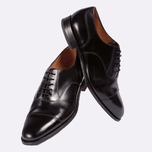 DK67 Loake Leather Oxford Shoe