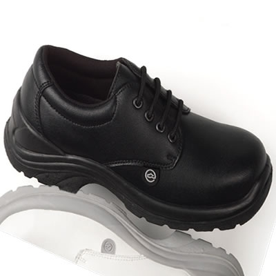 DK89 Toffeln Safety Lite Lace up Shoe
