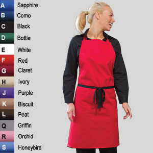 DP10 No Pocket Bib Apron