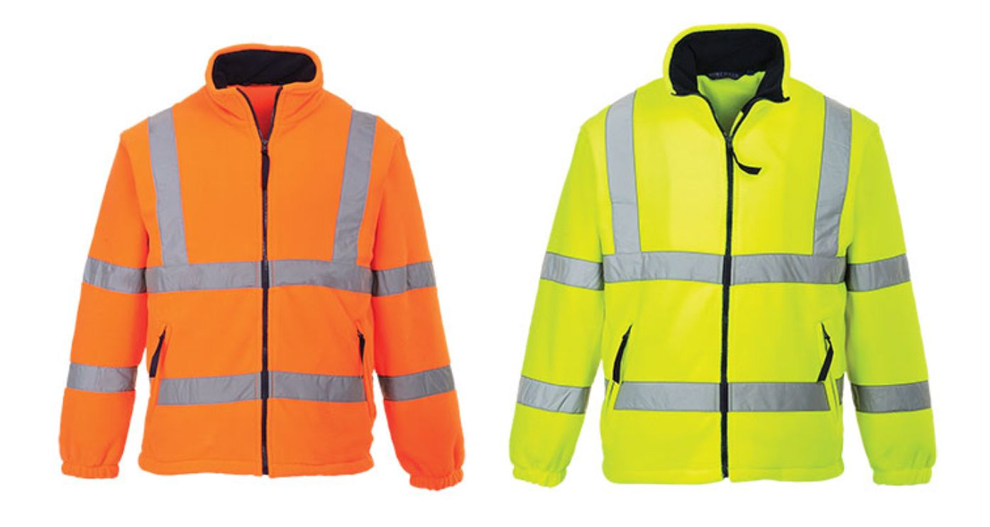 F300 Hi Vis Mesh Lined Fleece