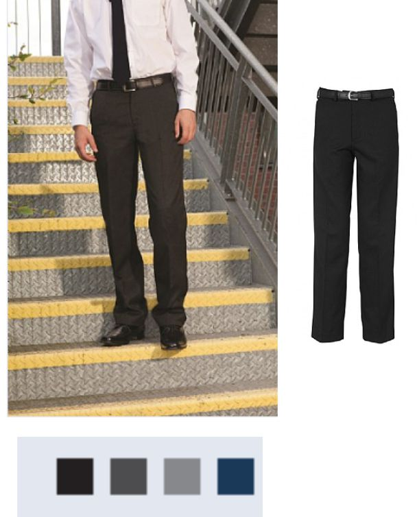 Banner Falmouth Junior Flat Front Trousers