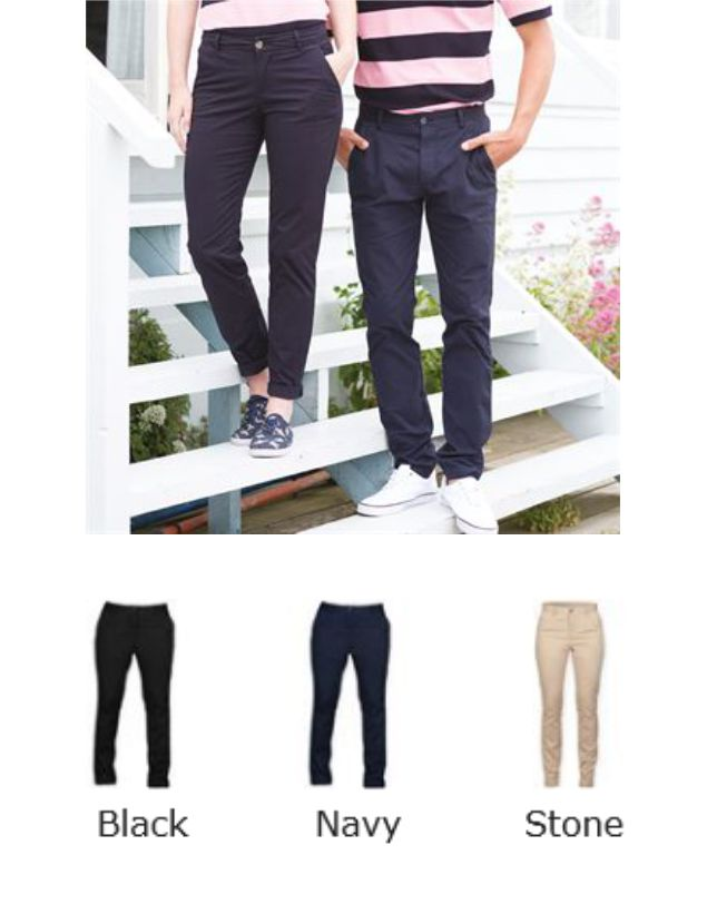 Front Row FR622 Ladies Stretch Chino Trousers