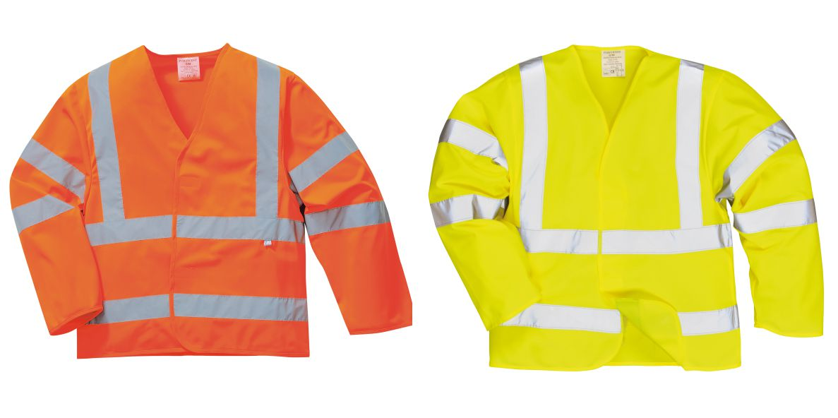 FR73 Hi Vis Jacket With Flame Retardent Finish