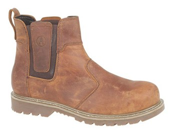 FS165 Crazy Horse Leather Welted Dealer Boot